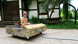samochód zabawka atrakcje Siedlisko na Wygonie