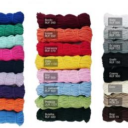sznurek bawełniany wzornik kolorów