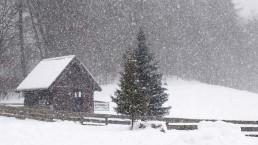 zima w Siedlisku na Wygonie