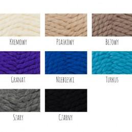 wełna wzornik kolorów
